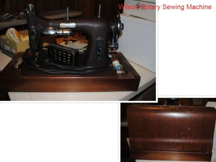 Wilson Rotary Sewing machine