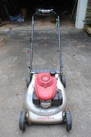 Newer Honda self propelled mower