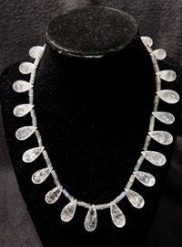 Quartz Crystal Necklace