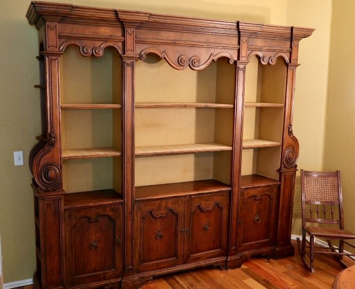 AVAILABLE for Pre-Sale - Contact Us If Interested!! Gorgeous 3 Piece European Bookcase - Asking $1200