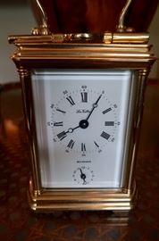 Brass Bucherer La Vallie Clock