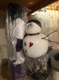 Christmas Snow Men indoors or out