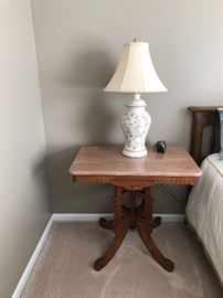 Antique East lake side table