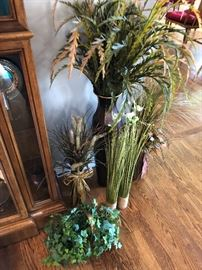 Dried and silk floral arrangements perfect for the holidays
