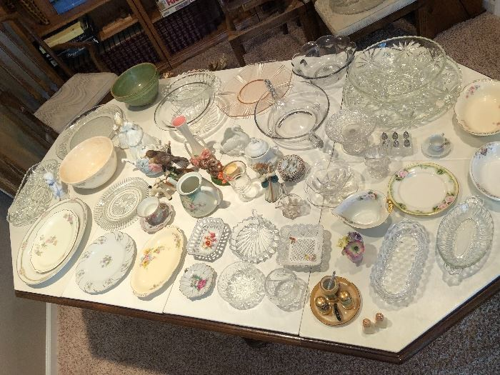 Antique Glass, China and Porcelain