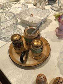 Vintage Condiment set