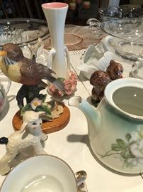 Antique China, Porcelain, figurines and vases