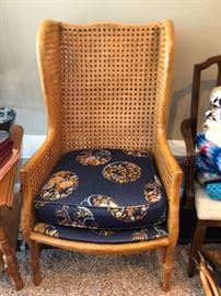 Rattan/Cane Antique Chair