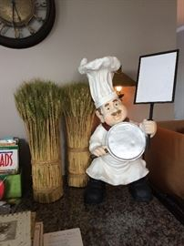 What are you cooking tonight Chef with plaque