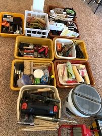 Tools, Painting tools, electrical tools and more