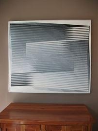 Acrylic on canvas by Edwin Mieczkowski