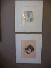 Prints by Agnes Denes