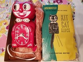 Kit Cat Klock Clock