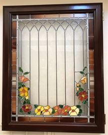 Lighted Stained Glass Window Box