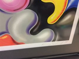 """Lok Glob"" by Kenny Scharf. Signed and Numbered 71/150. 30"" x 40""."