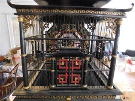 Oriental ornate Bird Cage