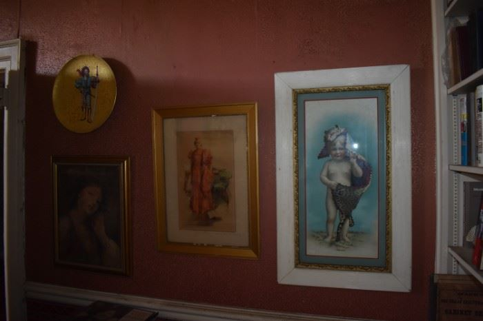 Some of the Antique Prints/Oils/Lithographs/Photographs in the Maddox Estate. More will be added to these. Bear in Mind the Maddox home was built in 1815 and visited by Andrew Jackson plus many Confederate Civil War Soldiers. The upstairs was actually used as a surgical room during the Civil War. So much History here