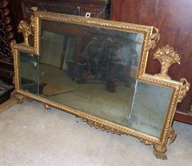 Tom 117 Gold horizontal mirror