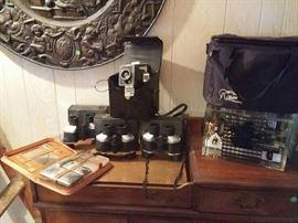 Air Purifier, Polaroid Camera