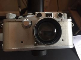 1937 LEICA DRP ERNST LEITZ WETZLAR GERMANY CAMERA SUMMITAR f-5cm 1:2 LENS BUNDLE