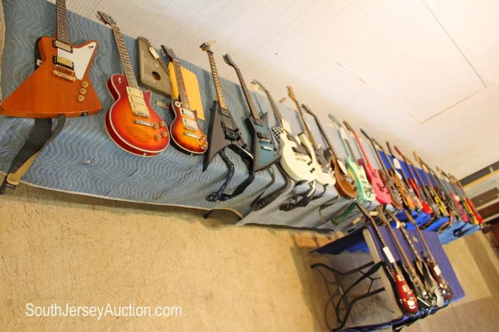 This is just a start of this HUGE guitar collection