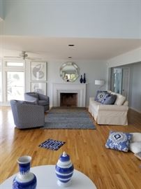 Mix and match LR. Whole room or separates