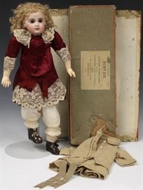 JUMEAU FRENCH DEPOSE E8J DOLL W/ ORIGINAL BOX