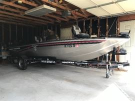 2007 Bass Tracker Pro Crappie 175 Boat