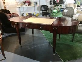 William Switzer Lucien Rollin Collection Macassar Ebony Art Deco Writing Desk