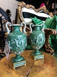 Vintage German Porcelain Vases