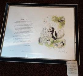 Ron Searl - art                                                                                               Bob Forbes poetry
