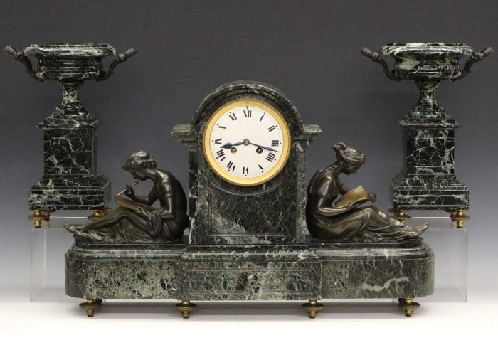 French Clock Set