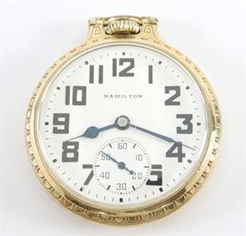 21 j Hamilton 992 RR Watch