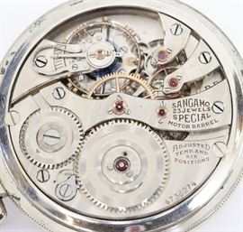 "Ill ""Sangamo Special"" RR Watch"
