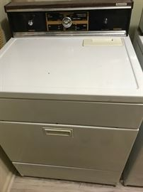 #4	washer kitchen aid	 $75.00  #5	dryer kenmore 	 $75.00