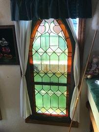 4  of these wonderful church Stainglass windows