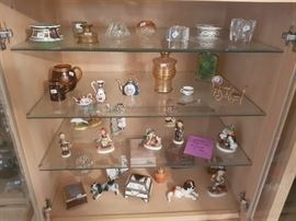 Lots of high end figurines and collectibles