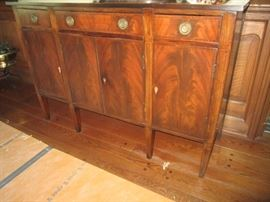 ANTIQUE BUFFET WITH KEYS