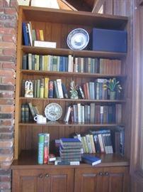 BOOKS AND DECOR SOME ANTIQUE BOOKS
