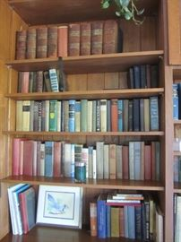 BOOKS AND SETS OF BOOKS