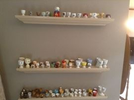 Egg Cup collection from around the world