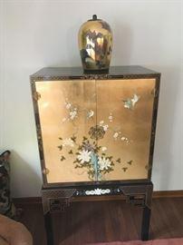 Asian Linen Cabinet