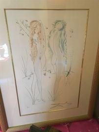 Several signed Salvadore Dali prints