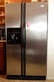 Side by side Refrigerator for sale.