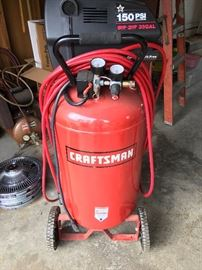 Craftsman 33 gallon air compressor.