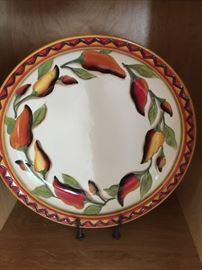 Chili Pepper plate with stand