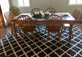 Beautiful oak farm table