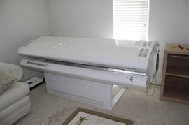 Sunsource Commercial Tanning Bed, all steal, made in usa