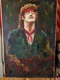 Original Bruce Springfield Oil Painting signed dated
