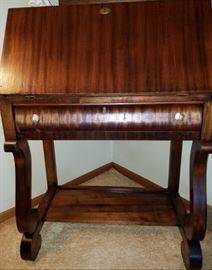 Beautiful antique drop front desk